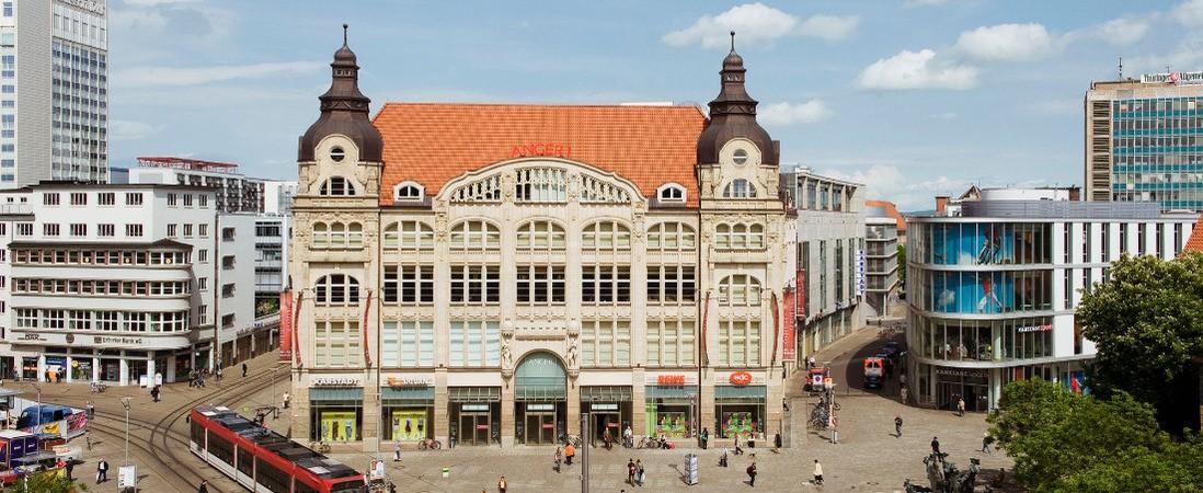 Einkaufsgalerie Anger 1 Erfurt Citymanagement Erfurt Ev